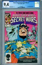 MARVEL SUPER HEROES SECRET WARS #7 CGC 9.4 1st Spider-Woman 2015992009