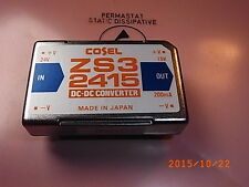 Zs32415 Cosel DCDC converter in 24v out 15v 3w