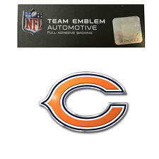 Promark New NFL Chicago Bears Color Aluminum 3-D Auto Emblem Sticker Decal