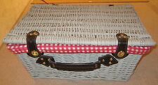 Wicker Hamper Home Storage Baskets with Handles
