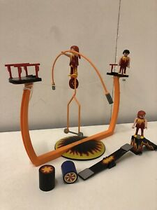 Playmobil Acobats Circus Set Tightrope Trapeze Set