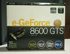 EVGA e-GeForce 8600 GTS 256 MB DDR3 Graphics Card PCI-E HDCP Enabled DX10