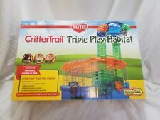 "Kaytee Critter Trail Triple Play Habitat (17.25""L x 11.5""W x 19.25""H) NEW"
