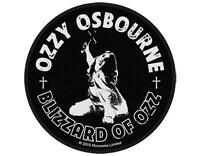OFFICIAL LICENSED - OZZY OSBOURNE - BLIZZARD OF OZZ WOVEN SEW-ON PATCH SABBATH