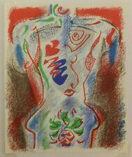 André Masson Le Corps Humain Human body lithographie originale ahier d'art XXème