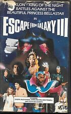 Escape From Galaxy III (3) (PAL TAPE) Rare Italian Sci Fi Action Clamshell 1981