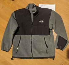 Boys, The North Face Size Youth-Xl Gray, Black Coat