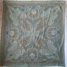 -Superbe châle  CHRISTIAN DIOR     laine   TBEG  vintage scarf