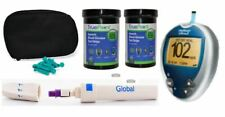 Diabetes Kit Tester Diabetic Strips Glucometer Kit
