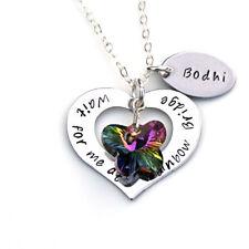Rainbow Bridge Pet Memorial Gift, Personalised Pet Memory Jewellery