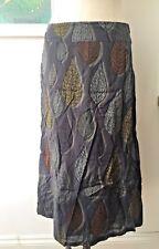 Seasalt Crankan Skirt in Giant Leaf Coal - UK10 EU38 - Sales Sample SAVE!
