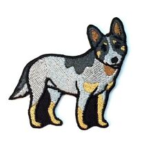 Australian Cattle Dog Iron On Embroidered Patch