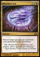 OBZEDAT'S AID NM mtg Dragon's Maze Gold - Sorcery Rare