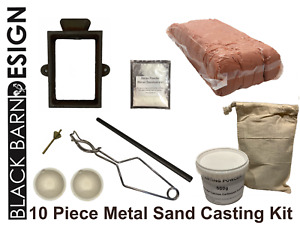 10 Piece Sand Casting Bundle For Metal Casting (Delft Style) Gold Silver Bronze