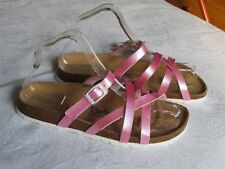 NEW Betula By Birkenstock Ladies Pink Mules Sandals UK Size 5 EU 38