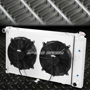 FOR 78-87 CHEVY CAMARO/CENTURY/CUTLASS 3-ROW ALUMINUM RACING RADIATOR+FAN SHROUD