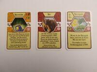 Agricola Promokarten: L-Deck L088 Bärenfalle, L089 Bär, L090 Bärenpark