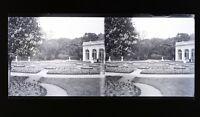 Francia Versailles Foto Stereo L9n Vintage Placca Da Lente Negativo