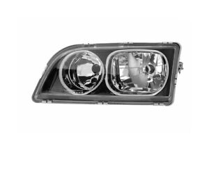VOLVO V40 1 2002-2004 BLACK WITH CHROME RINGE VP1378L LEFT HEADLIGHT RHT
