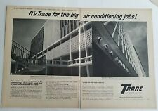 1962 Trane air conditioning Tennessee psychiatric hospital RCA building ad