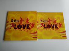 JJ8 - THE BEATLES LOVE NUEVO SIN PRECINTAR LP VINILO PORTADA M DISCO M