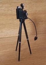 1/12 miniature maison de poupées anciennes portrait appareil photo sur trépied photos film cinéma LGW
