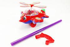 Hubschrauber Helikopter zum Schieben SCH Laufhilfe Schiebespielzeug bunt