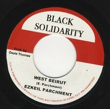 "Ezekiel Parchment ‎West Beirut / Arafat Dub UK 7"" ROOTS MINT Black Solidarity ‎"