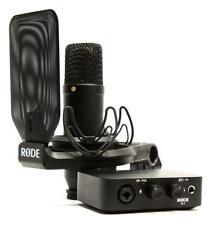 Rode Complete Studio Kit USB Audio Interface Mikrofon NT1 AI-1 Homerecording Set
