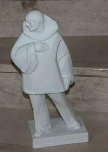 biscuit clown pailasse opéra lyrique italien E.Riboulet (1883-1972) art déco