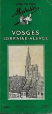 GUIDE VERT MICHELIN / FRANCE : VOSGES - LORRAINE - ALSACE -1957- TOURISME