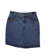 Arizona Jean Co. Ladies Womens Blue Denim Skirt Size 16