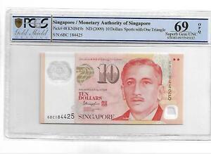 "2009 Singapore ""Commemorative"" 10 Dollars Pick#48 PCGS 69 OPQ"