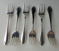 Wallace Silverplate Royal Tip flatware six salad or dessert forks