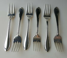 Wallace Silverplate Royal Tip flatware six salad or dessert forks