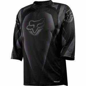 Fox Racing Covert 3/4 Sleeve Jersey Black