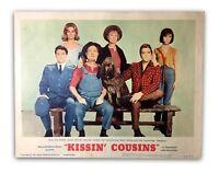 """KISSIN COUSINS"" ORIGINAL 11X14 AUTHENTIC LOBBY CARD PHOTO POSTER 1964 ELVIS #3"