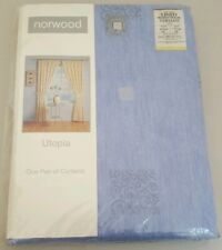 "Pair of Norwood Lined Ready Made Curtains Curtains 64"" Wide x 54"" Drop New"