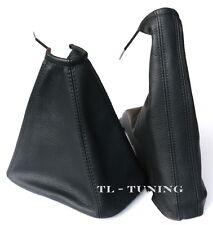 Schaltsack + Handbremssack passend für OPEL VECTRA B (95-03) Leder Farbe SCHWARZ