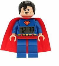 Lego DC Comics Super Heroes Superman Kids Minifigure Light up Alarm