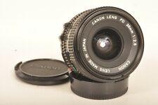 Canon 2,8 x 28 mm FD Weitwinkel Objektiv / Wide Screen Lens II