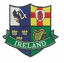 Irish PROVINCES Crests - Embroidered Ireland Patch / Badge