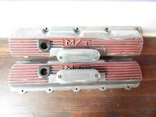 Vintage Oldsmobile 330-425  MICKEY THOMPSON  VALVE COVERS with OFFY breathers