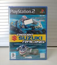 CRESCENT SUZUKI RACING - SONY PLAYSTATION 2 GAME - PAL - NEW (Y-FOLD SEALED)