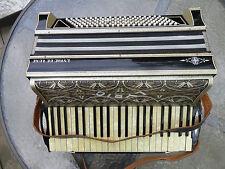 Vintage 4 Reed Accordion 41/120 Hohner Lyric De Luxe IV Art Deco Body NR!