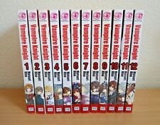 Vampire Knight Manga Books 1-12 Collection By Matsuri Hino Viz Media Shojo Beat