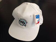 Vintage White Miami Florida Marlins Commemorative July 18 1991 Snapback Hat MLB
