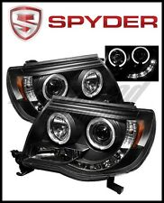 Spyder Toyota Tacoma 05-11 Projector Headlights LED Halo LED Blk High H1 Low H1