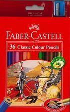 Faber-Castell 36 Classic Colour Pencils