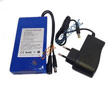 Batteria Tampone Ricaricabile a Litio 12 Volt  6800mA Lunga Durata + Charger 1AH